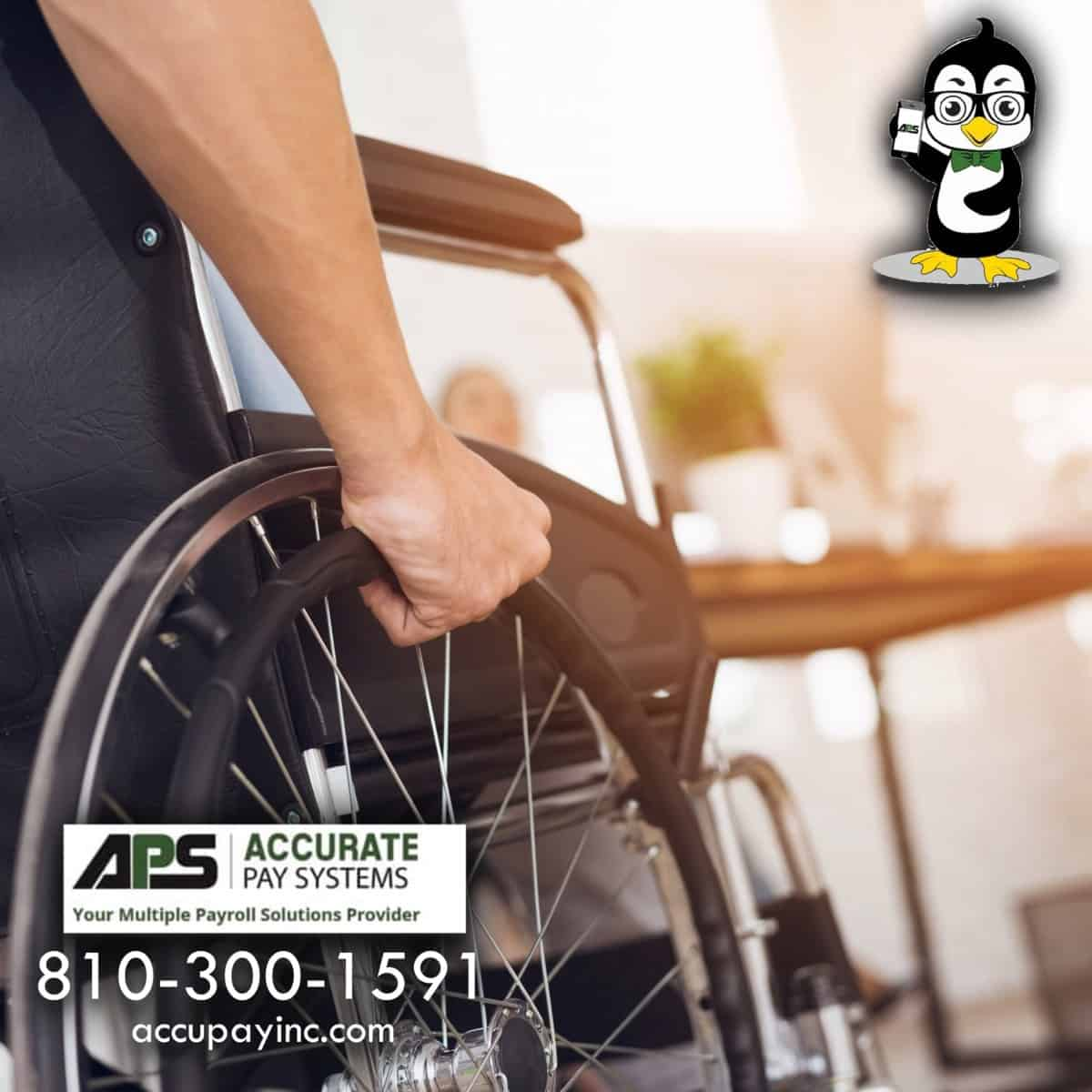 Handicapped employee HR services from Accurate Pay Systems
