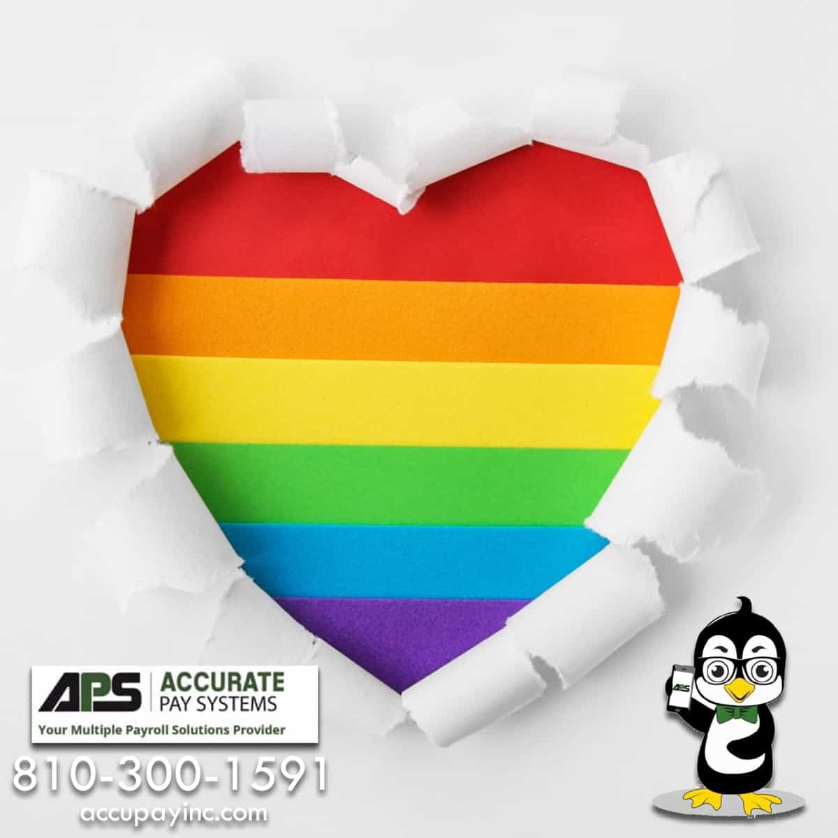 Celebrate Pride Month from Accurate Pay Systems, Inc.